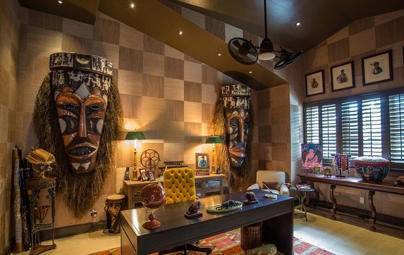 afrikanski interer