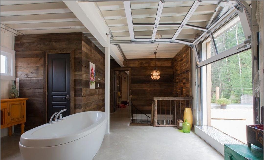 vannaja-v-stile- таванско помещение