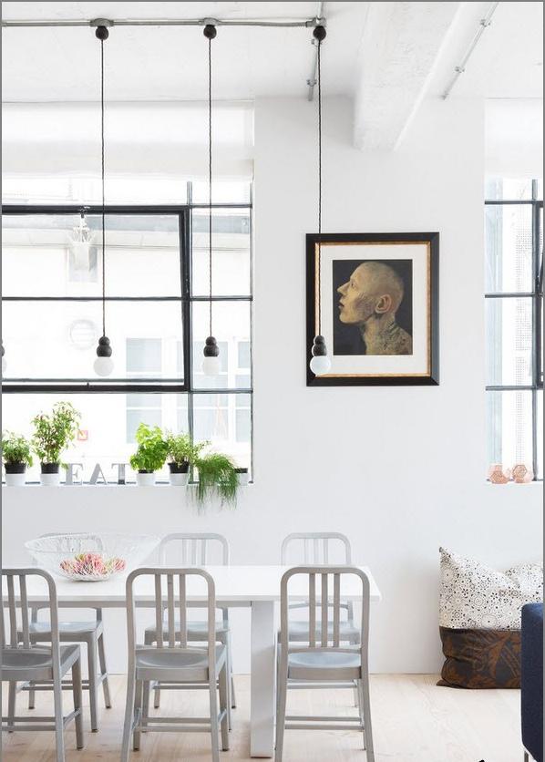 Основните атрибути на стила на таванското помещение