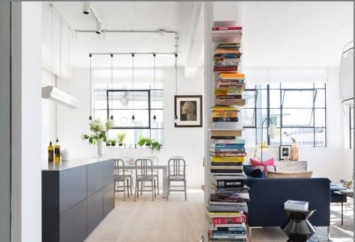 Décoration intérieure de style loft