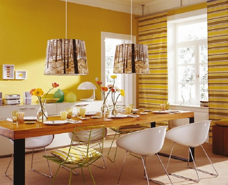Жълто-трапезария-555