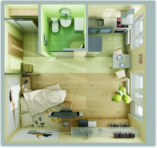 малки квартира-arty6