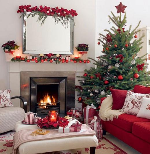 olohuone-pieni-joulu-olohuone-yksinkertainen-koristeet-ideoita-888