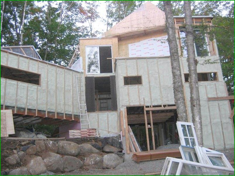 изграждане на къща от контейнери за превоз по проект Maison Idekit Home