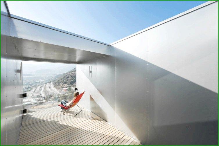 метална къща фото тераса