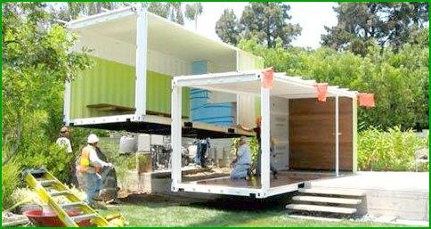 Budowa domów kontenerowych