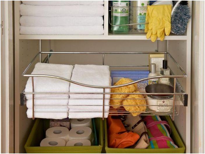 1. Пространство под мивката