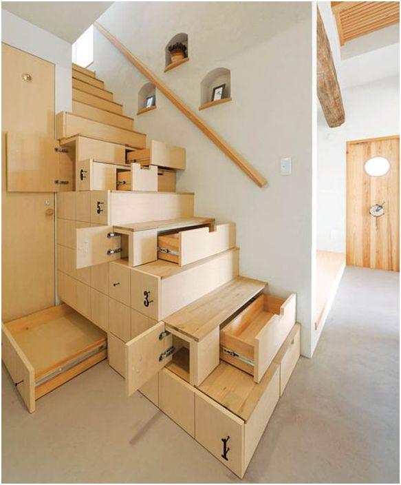 Много функционално стълбище