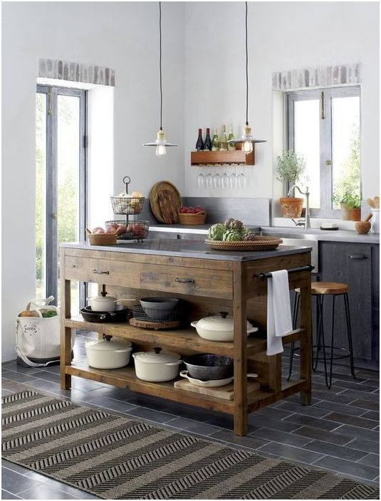 Система за съхранение на кухненски прибори
