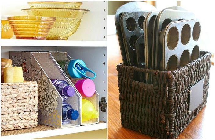 10 прости идеи за страхотна организация на кухненското пространство