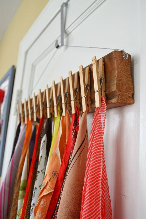 Clothespin to clothespin