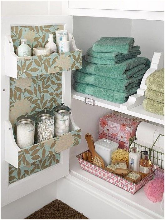 Съхранение под мивката