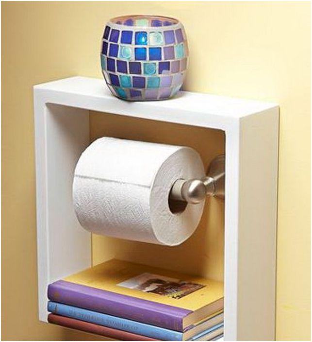 Органайзер за тоалетна хартия
