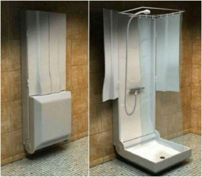 Складной душ