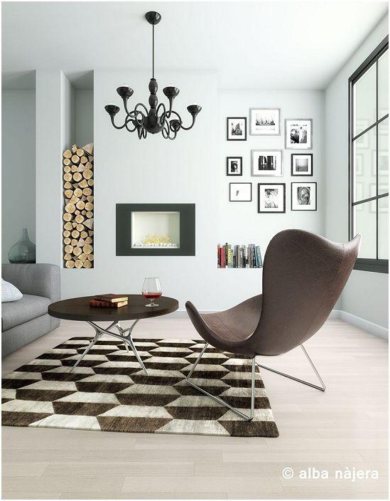 Кофейно-белый интерьер гостиной - просто отличный вариант оформления комнаты для отдыха.
