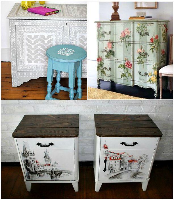 Трансформация на стари мебели.