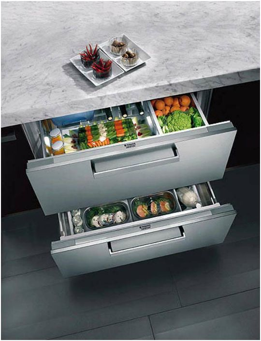 Компактен хладилник.