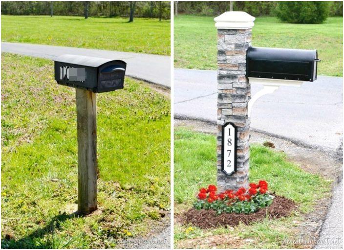 Чудесен вариант за проектиране на пощенска кутия, която ще привлече специално внимание.
