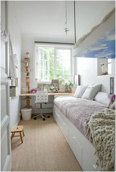 Тесен дизайн на стаята