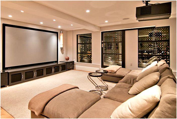 Модерна стая за отдих.