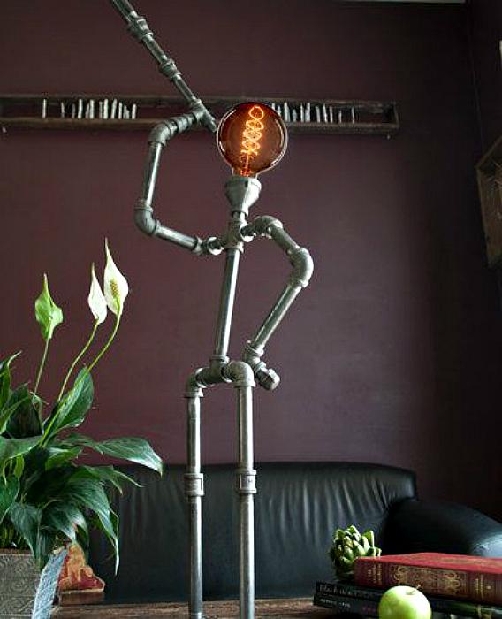 Забавна лампа.