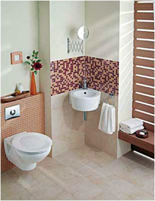 Тоалетна и умивалник за стена.