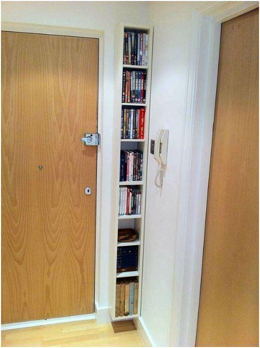 Компактна шкафче за книги