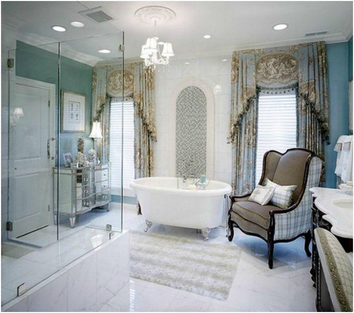Luksusowa łazienka.
