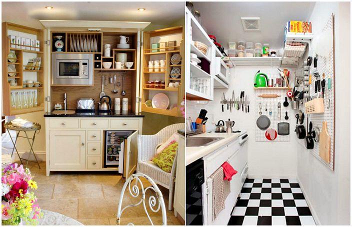 Прости трикове за подреждане на малка кухня.