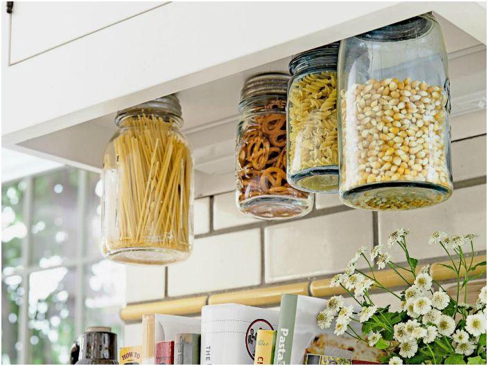 Съхранение на зърнени храни.