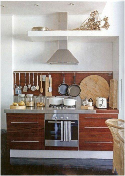 Организация на работното пространство в кухнята.
