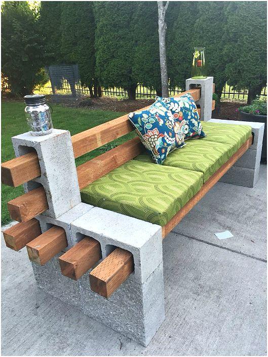 Градинска пейка.