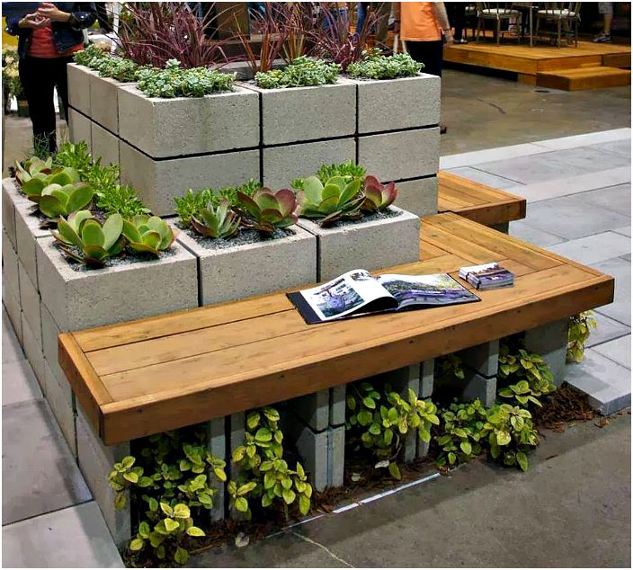 Очарователен дизайн на градината.