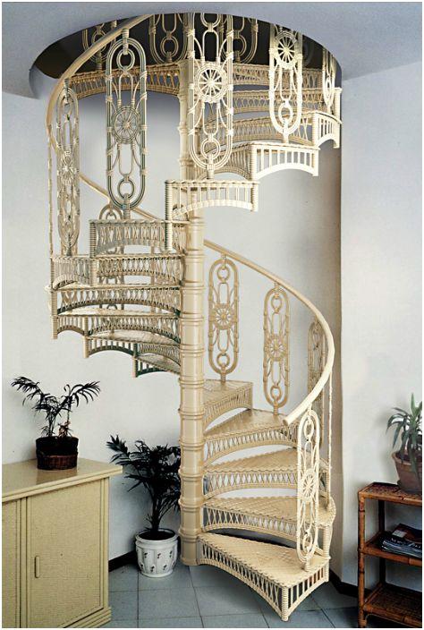 Стълбище във винтидж стил.