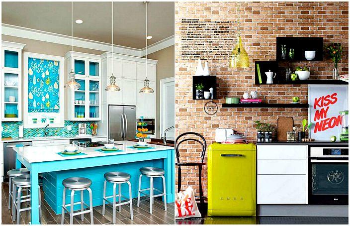 Stílusos és modern konyha.