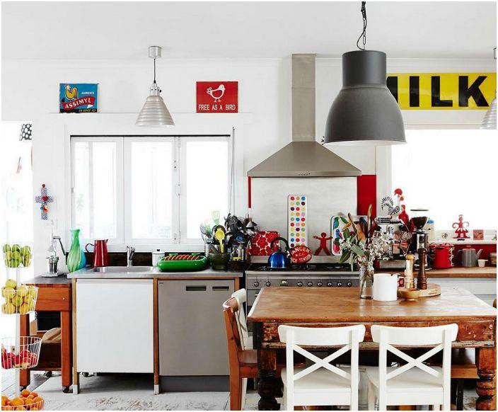 Eklektika a konyhában.