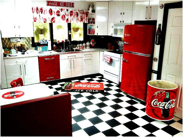 Coca Cola stílusú konyha.