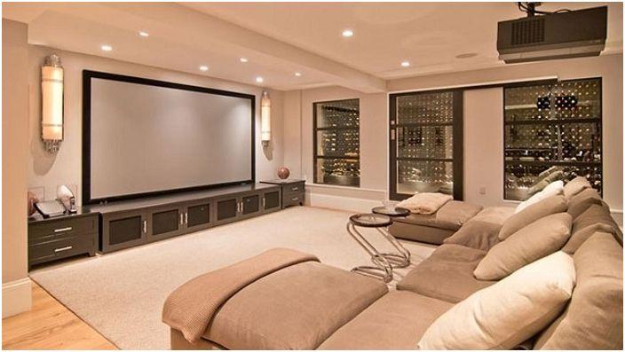 Specjalna sala do oglądania ulubionych filmów i seriali zachwyci miłośników takiego wypoczynku.