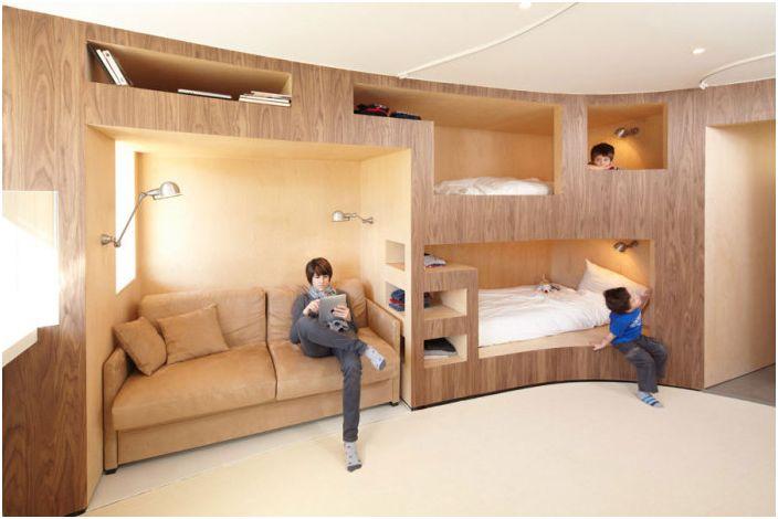 Иновативен модул за спане.