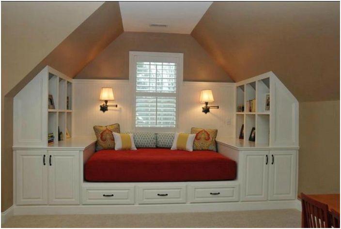 Вградена спалня.