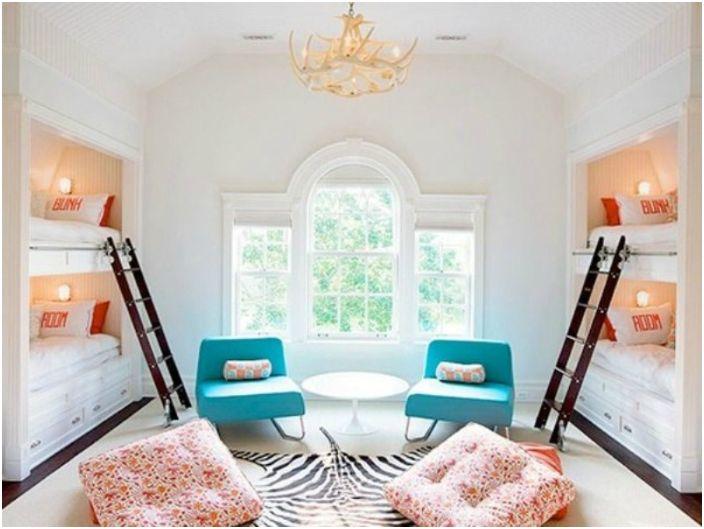 Уютна спалня за голямо семейство.