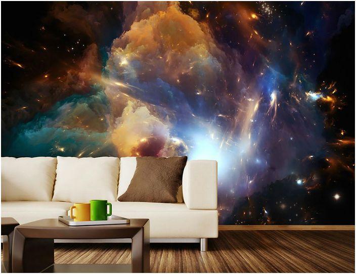 Космически декор за стена.