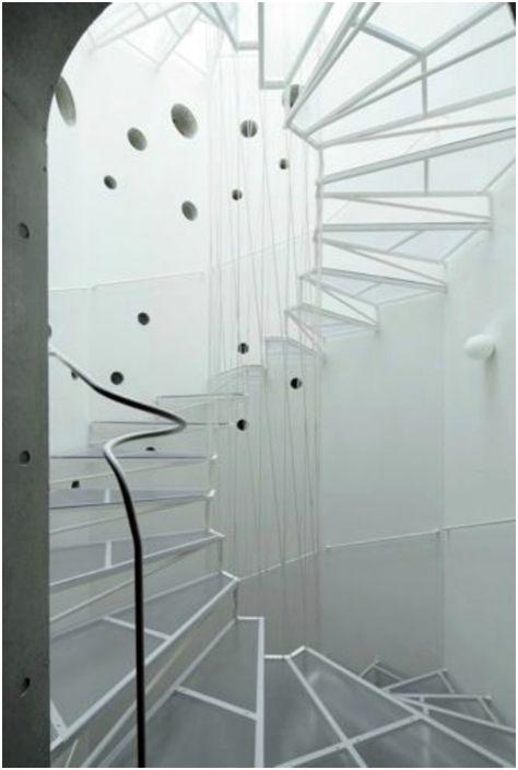 Стильная лестница.