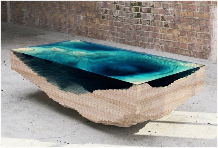 Уникальный кофейный столик.