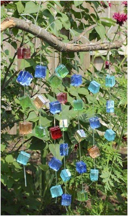 Красива декорация, която ще озари всяка градина и ще създаде прекрасна мелодия на вятъра.