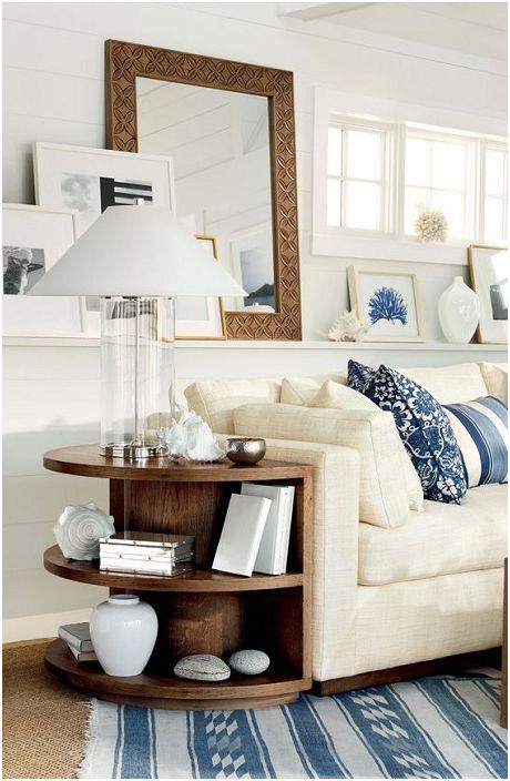 Елегантна маса ще бъде прекрасен елемент на декора и ще създаде прекрасна атмосфера в къщата.