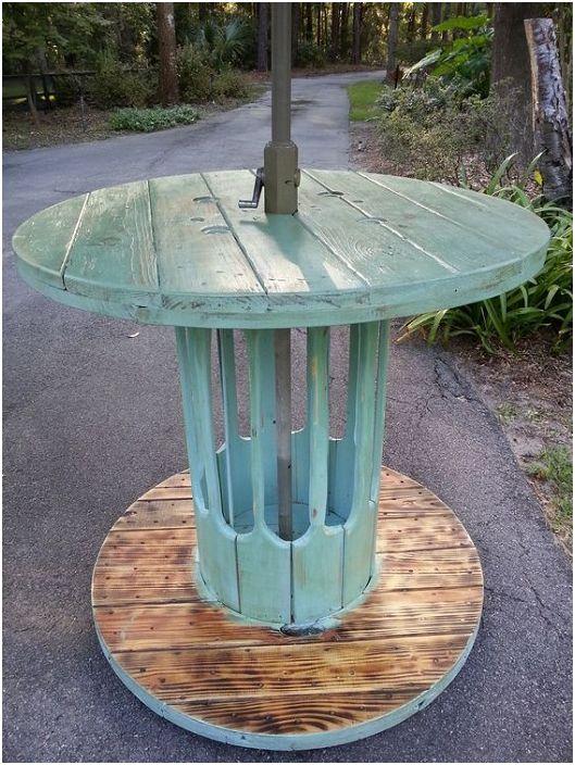 Идеален за декориране на маса в тюркоазени тонове от серпентина.