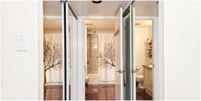 Umieszczenie luster przy oknie pomoże wizualnie powiększyć powierzchnię pomieszczenia.