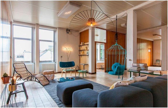 Интерьер гостиной, который вдохновит и подарит ощущение спокойствия и отдыха.