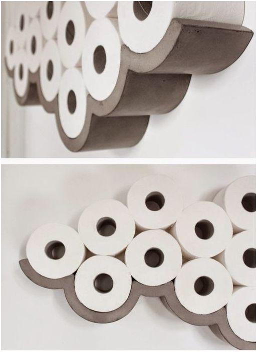 Oppbevaring av toalettpapir